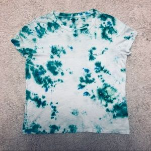 💚Hand Tie-Dyed Tee💚
